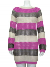 Sweater, Tunic, Striped, CHESLEY # 17123