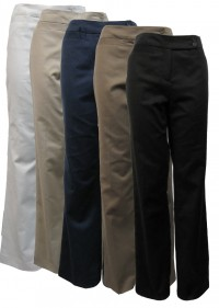Pants, Cotton, Stretch W/ Front & Back Pockets, FCS # 3307