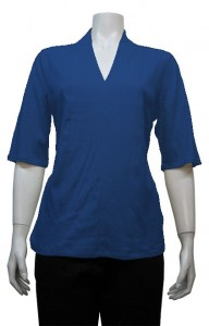 Blouse, Elbow Sleeve W/ Stitches, CTR # 1247