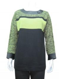 Sweater, Printed, Round Neck, JENNY # 8506