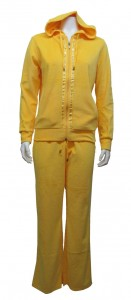 2pc Jogging Suit ,Velour ,W/ Hood & Pockets, BXY # 6211