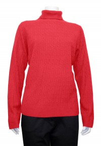 Sweater, Turtle Neck, W/ Cable Design,  CTR # 01899